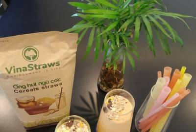 VINASTRAWS CREATS THE DIFFERENCE TO SAVE THE EARTH